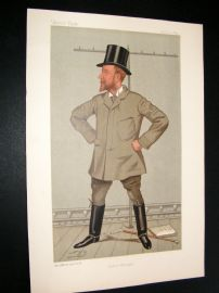 Vanity Fair Print 1892 Henry Arthur Jones, Theatre
